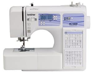 modern computerized sewing machine