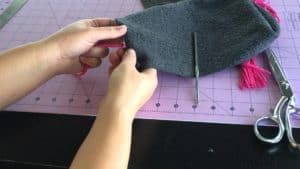 scarf sewing